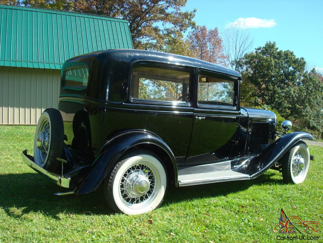 oldsmobile 1931 2 door sedan not your common ford