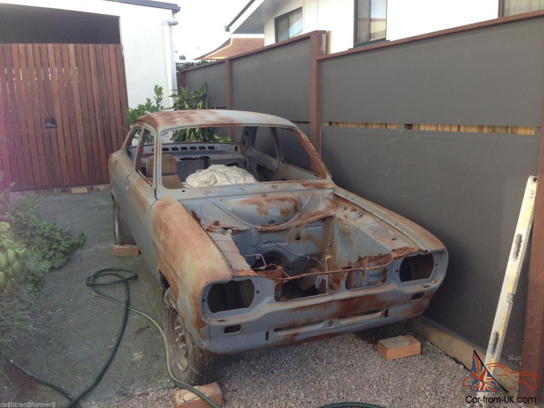 MK1 Ford Escort 2L Pinto Hilux Rear END Sandblasted Body Unfinished ...