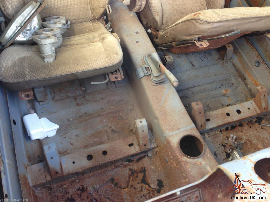 Ford Escort 2L Pinto Hilux Rear END Sandblasted Body Unfinished ...
