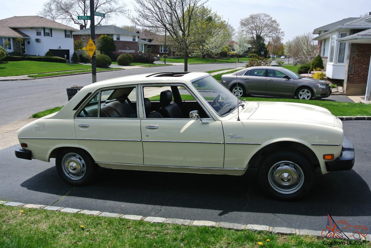 1979 PEUGEOT 504 SEDAN PRISTINE CONDITION ORIGINAL OWNER
