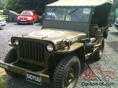 classic willy 39 s jeep 1944 original world war 2. Black Bedroom Furniture Sets. Home Design Ideas