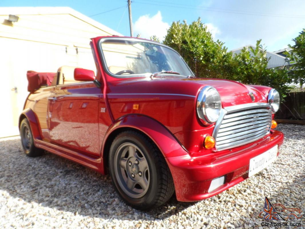 1993 Rover Mini Cabrio One Owner Low Miles 32k Immaculate