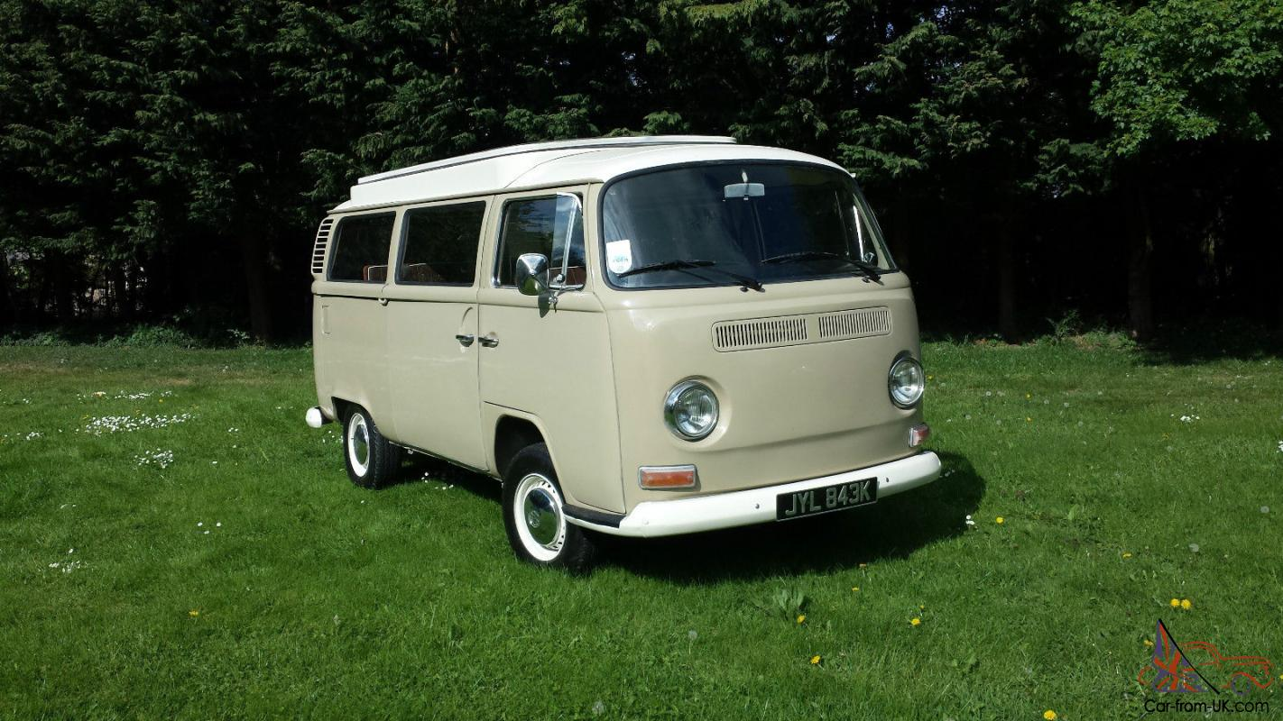 vw camper devon t2 bay window 1972 savannah beige. Black Bedroom Furniture Sets. Home Design Ideas