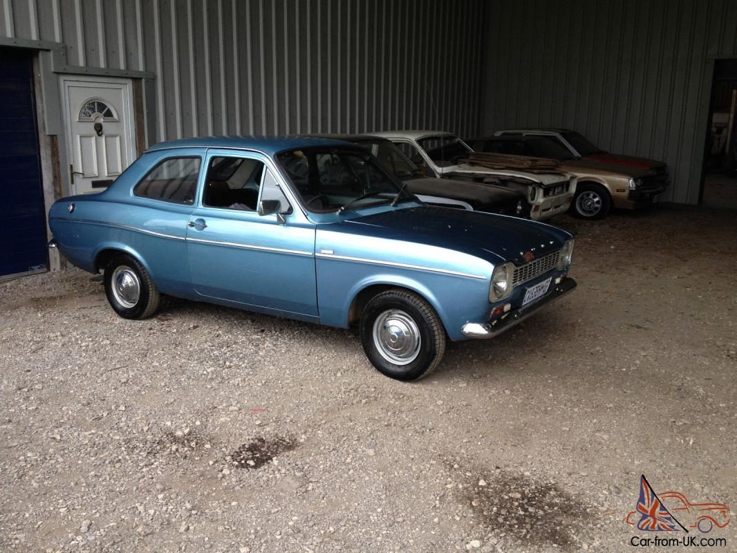 1969 ford escort mk1 1300 delux very original condition rally bda twin cam rs photo