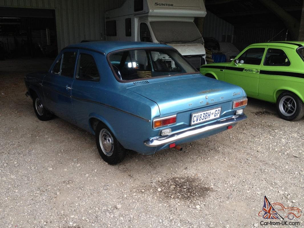 1969 FORD ESCORT MK1 1300 DELUX VERY ORIGINAL CONDITION, RALLY BDA TWIN CAM  RS