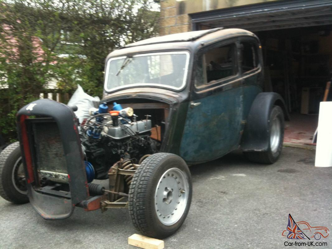 1938 Morris 8 Hotrod Project
