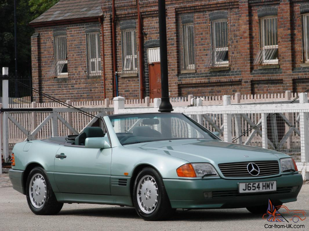 1991 mercedes benz 500sl 32 r129 roadster rare colour for 1991 mercedes benz
