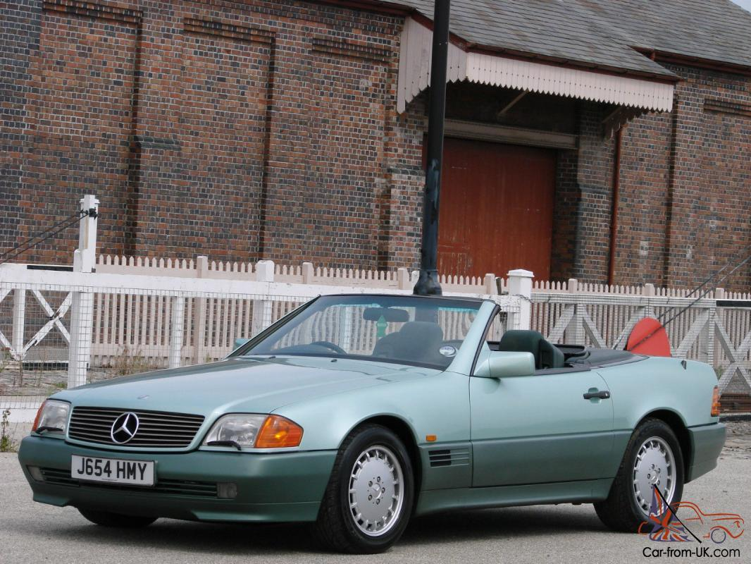 1991 Mercedes Benz 500SL-32 [R129] Roadster Rare Colour Exceptional ...