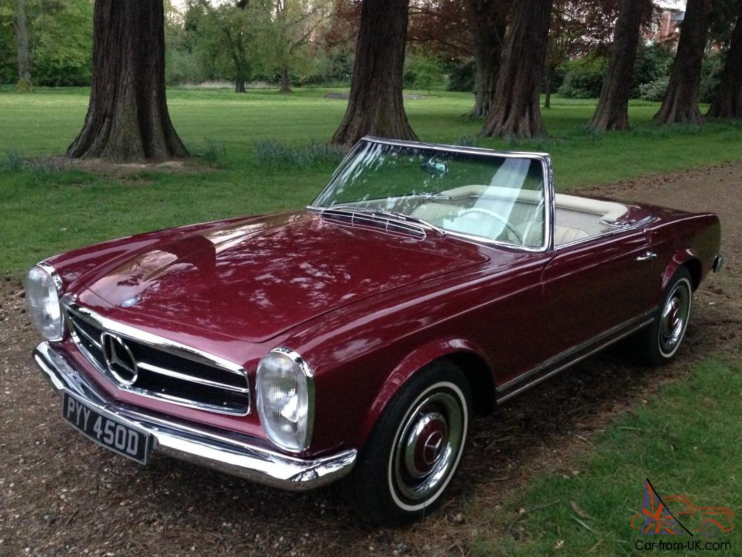Mercedes benz w113 pagoda 230 sl roadster for Mercedes benz pagoda
