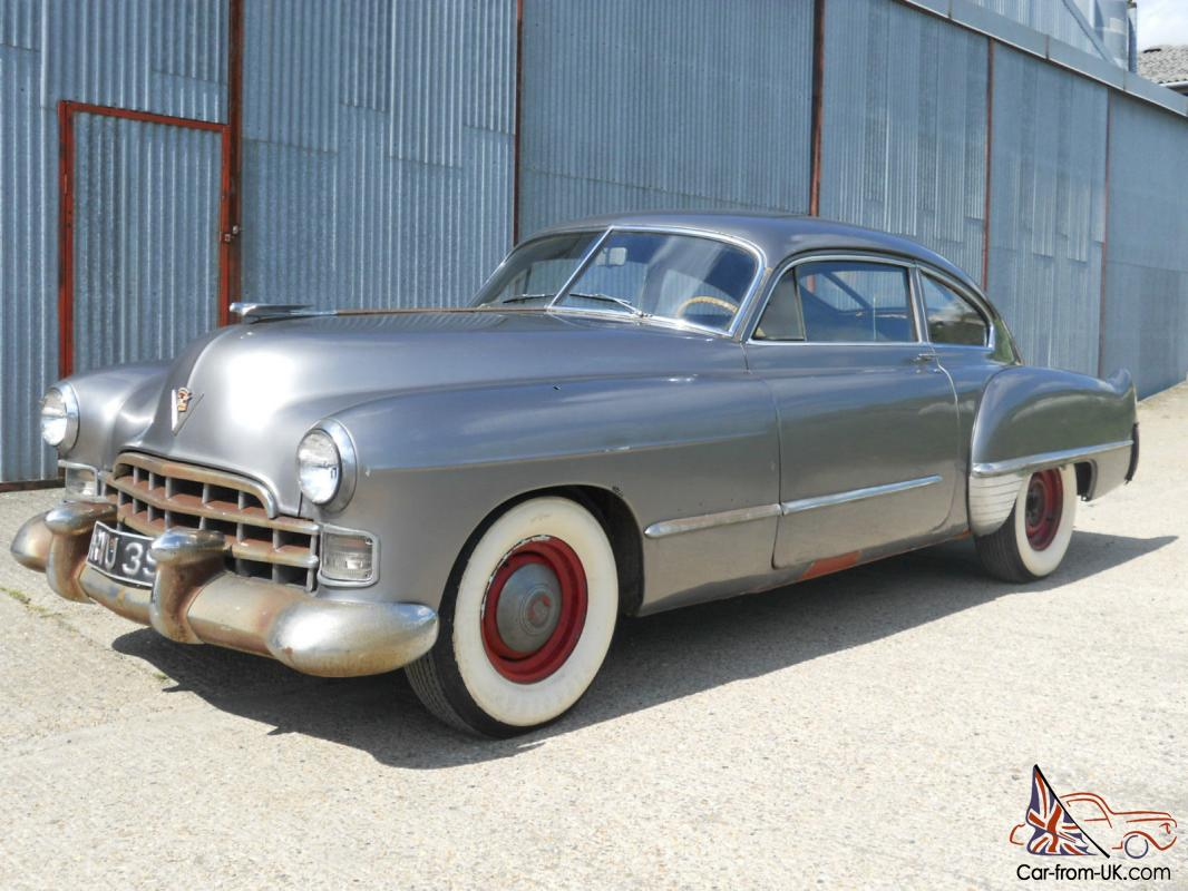 very rare 1948 cadillac series 61 club coupe