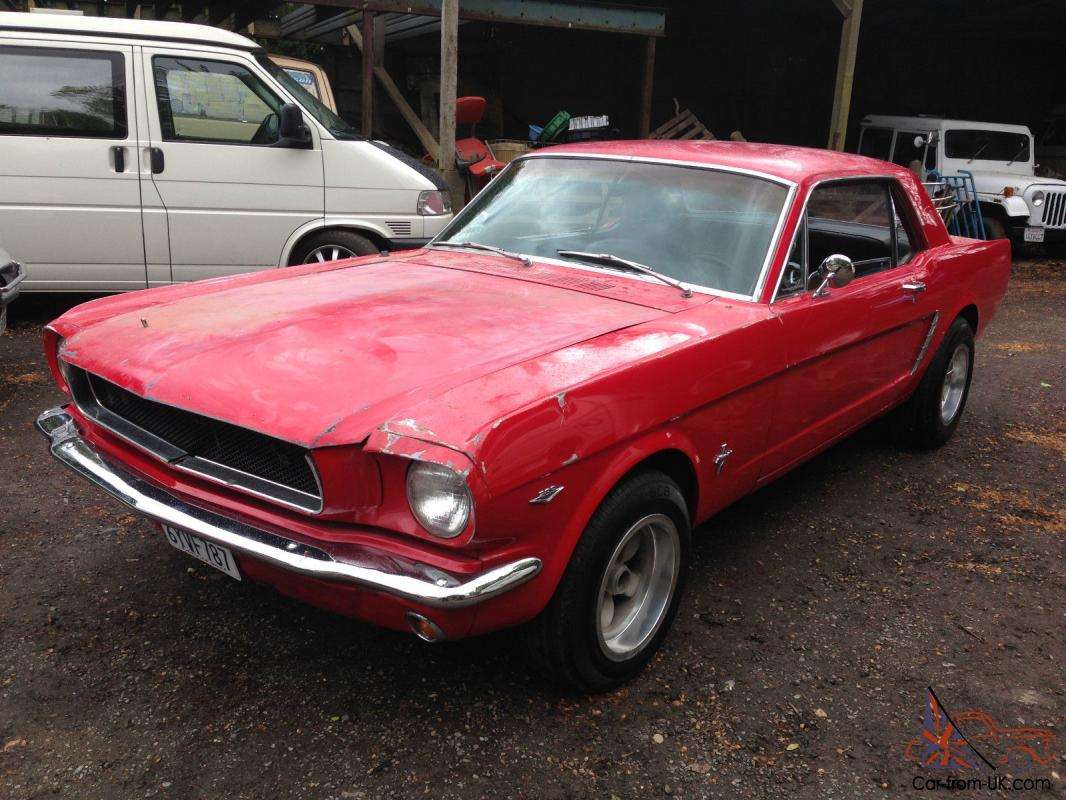 Ford Mustang C Code 289 Auto Rebuilt Motor And Trans 1965 Rock Solid