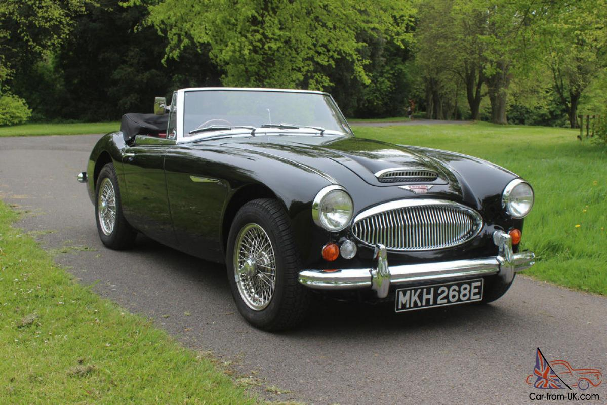 1967 austin healey 3000 mkiii less than 2000 miles since restoration. Black Bedroom Furniture Sets. Home Design Ideas
