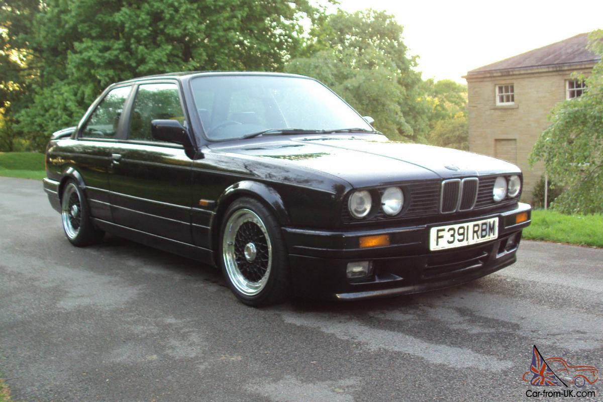 1988 F E30 Bmw 325i Se Schwartz Factory Fitted Mtech 2 Edition