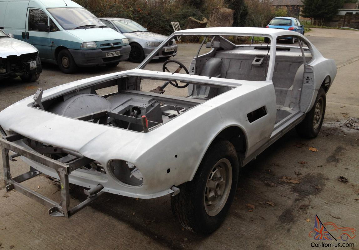 Aston Martin V8 Restoration Project