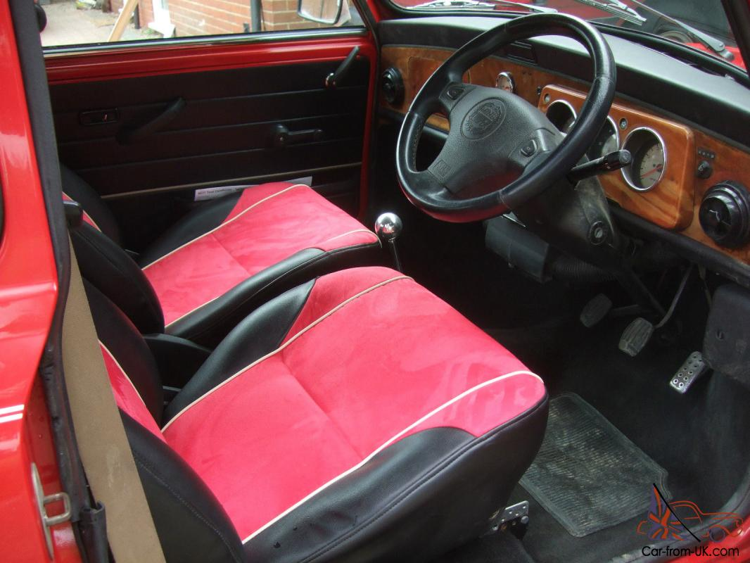 classic mini cooper mpi totally restored interior retrimmed. Black Bedroom Furniture Sets. Home Design Ideas
