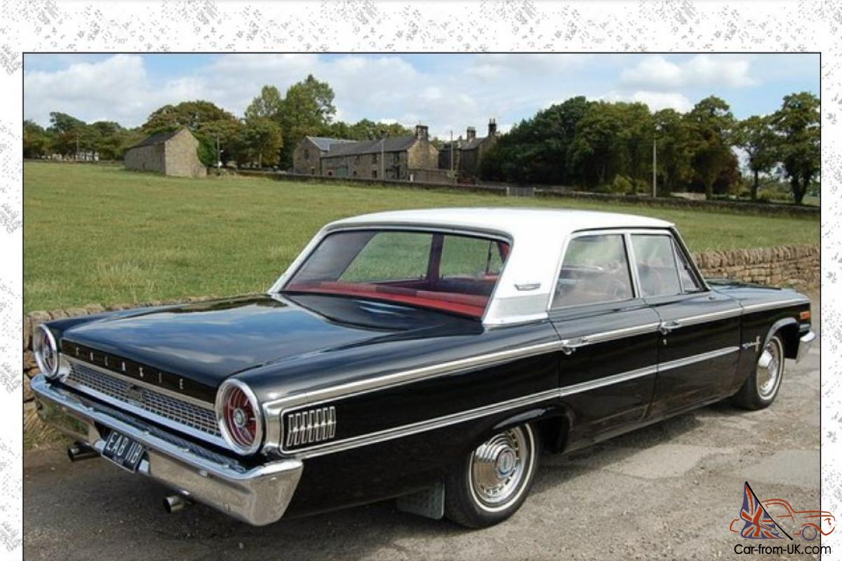 ford galaxie 500 sedan 1963 original right hand drive rare factory options. Black Bedroom Furniture Sets. Home Design Ideas