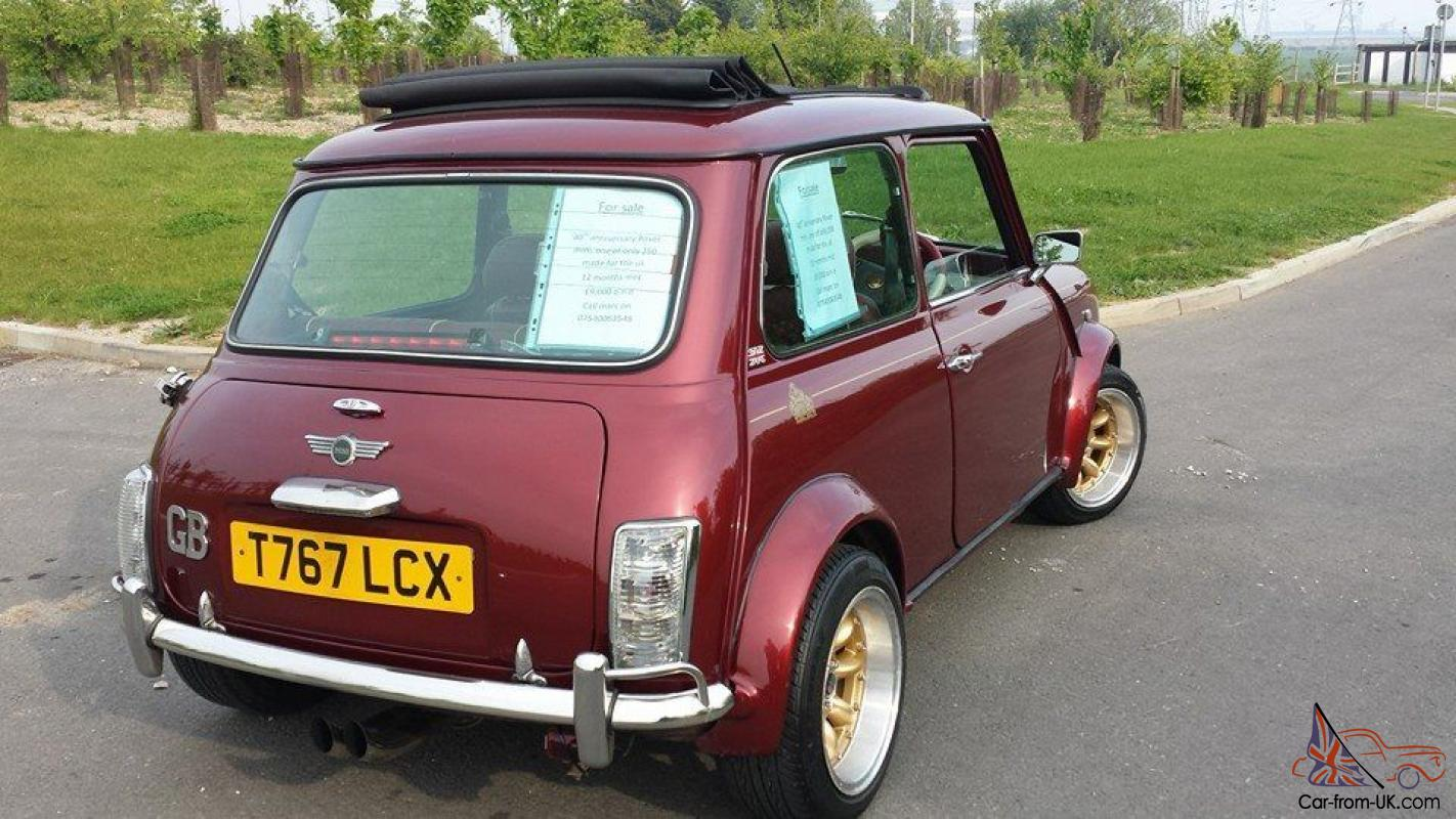 Rover Mini 40 Le 2dr 13 Mpi 40th Anniversary T Reg 1999 Only