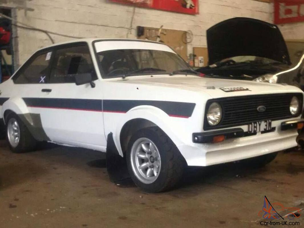 MK2 Escort Rally car Pinto Powered GRP4 Group 4 rally car