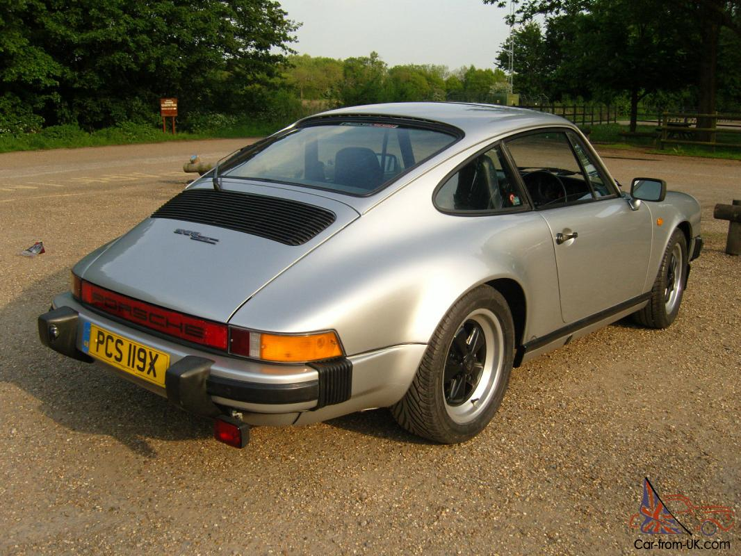 1982 porsche 911 sc 3 0l silver excellent condition. Black Bedroom Furniture Sets. Home Design Ideas