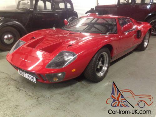 Ford Gt Kva Mk Classic Car Photo