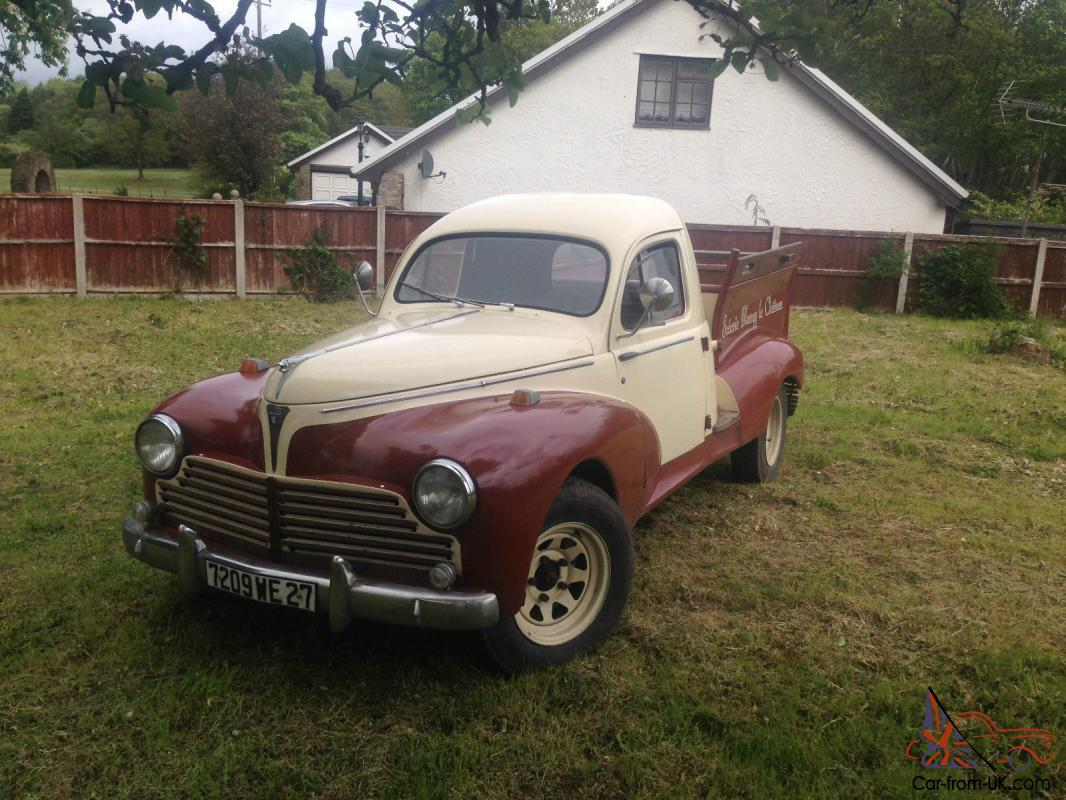 1954 peugeot 203 pick up view short video to appreciate this lovely classic. Black Bedroom Furniture Sets. Home Design Ideas