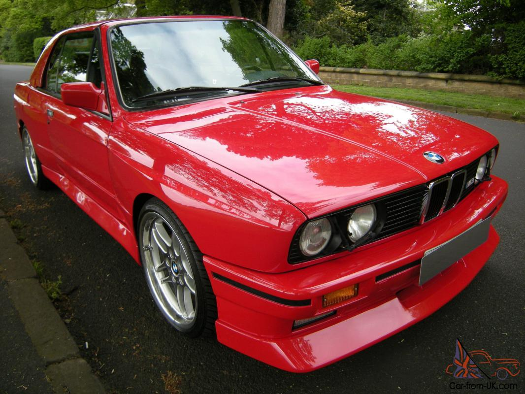 BMW E30 M3 CONVERTIBLE / CABRIOLET VERY RARE CAR WITH HARD TOP for ...