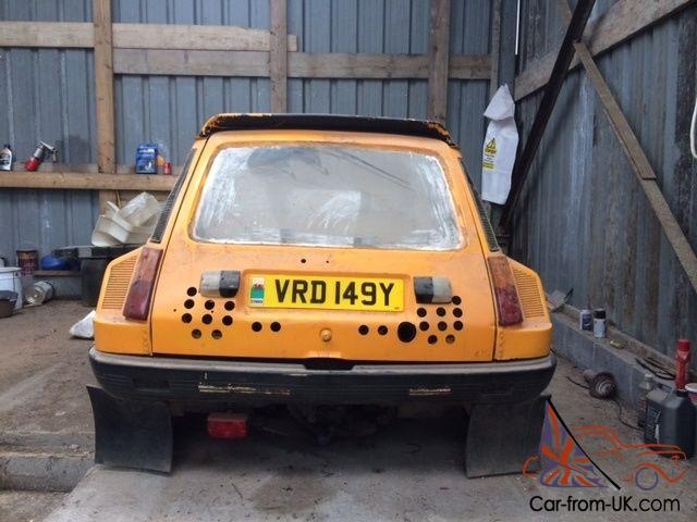 Renault 5 Gordini Turbo Mid Engine Barn Find