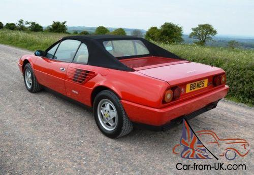 1986 ferrari mondial quattrovalvole cabriolet. Black Bedroom Furniture Sets. Home Design Ideas