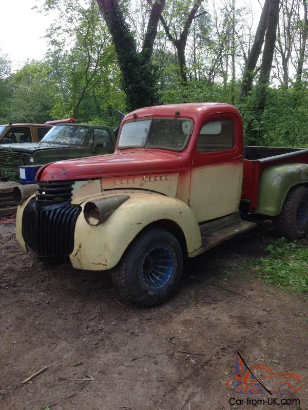 1946 chevy truck with 305 engine and uk reg. Black Bedroom Furniture Sets. Home Design Ideas
