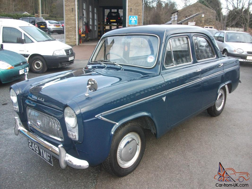 1960 ford prefect 4 speed