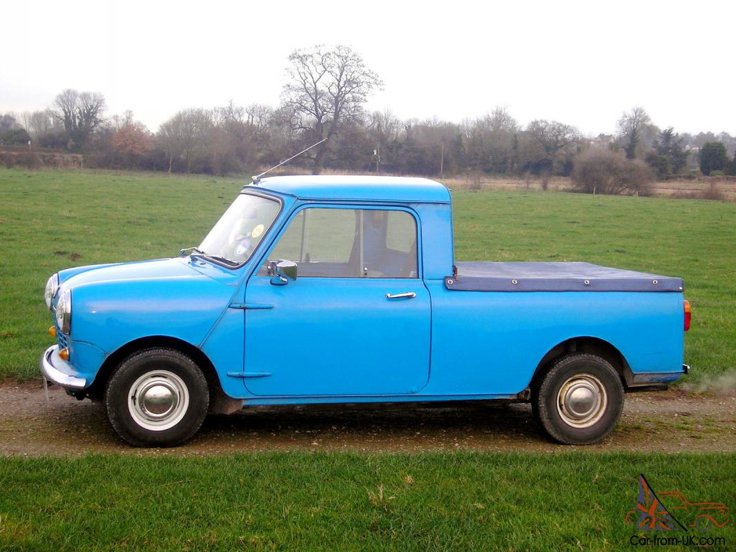 Classic 1979 Blue Austin Mini Pickup Truck With Mot And Tax