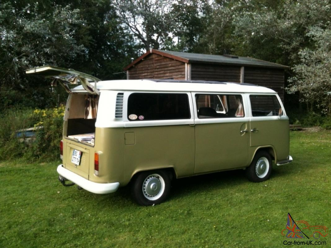 1971 bay window t2 vw campervan camper. Black Bedroom Furniture Sets. Home Design Ideas