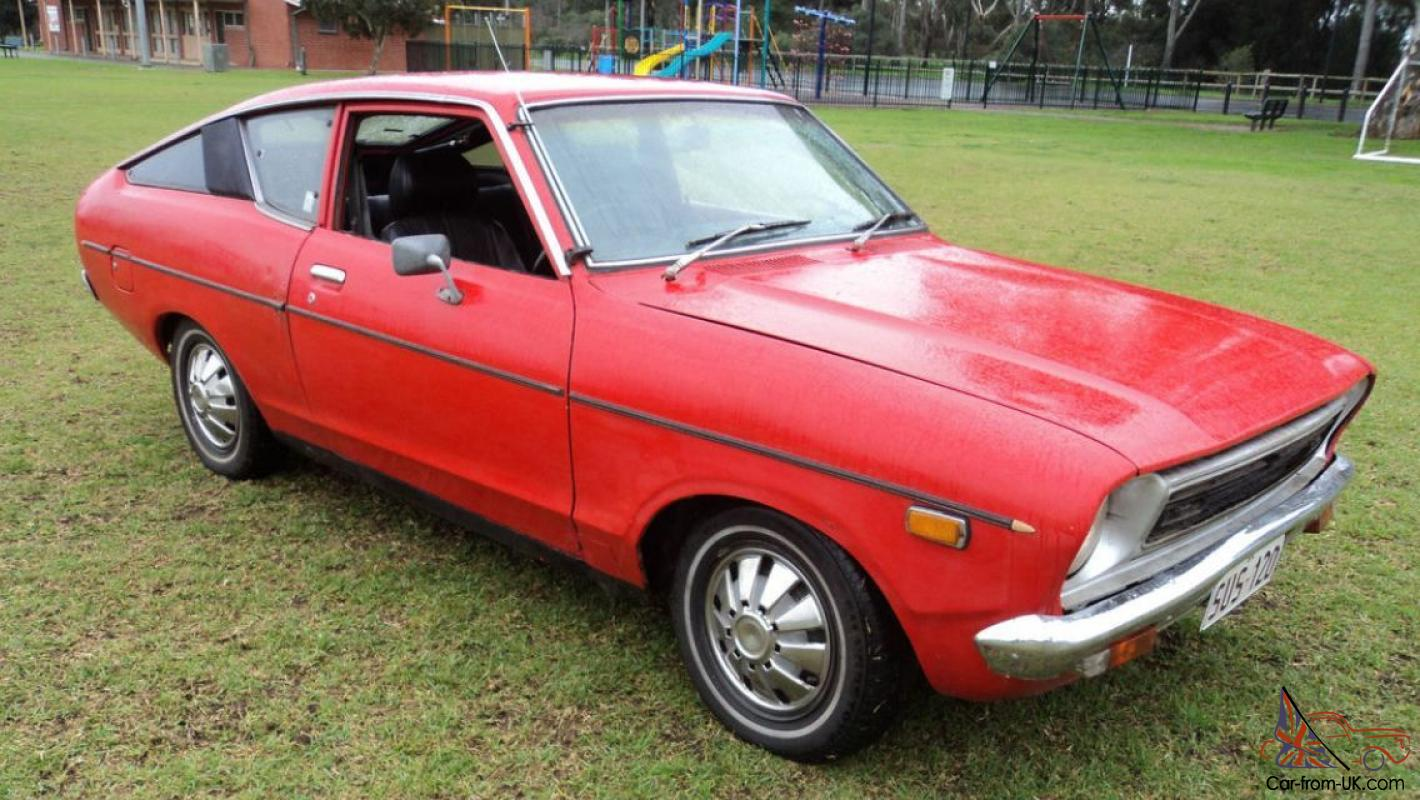 Datsun 120Y Coupe Fastback 2 Door Manual WOW Turbo Serious ...