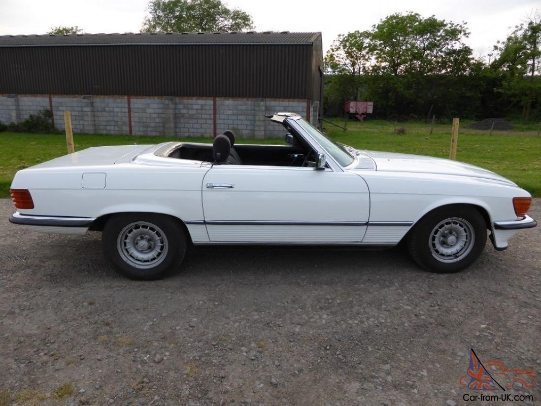 Mercedes benz 380sl 1980 r107 series mk2 with aircon for 1980s mercedes benz