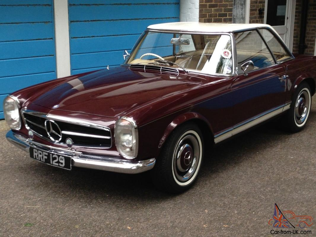 Mercedes benz 230sl pagoda for Mercedes benz 230sl