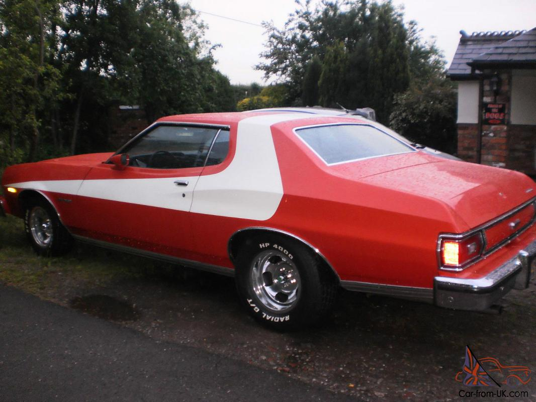 Starsky and hutch ford gran torino real ford built 1 of 1 000