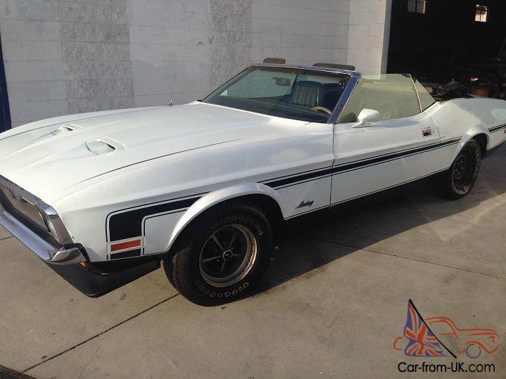 1971 Ford Mustang Convertible 302 5 0 V8 Engine