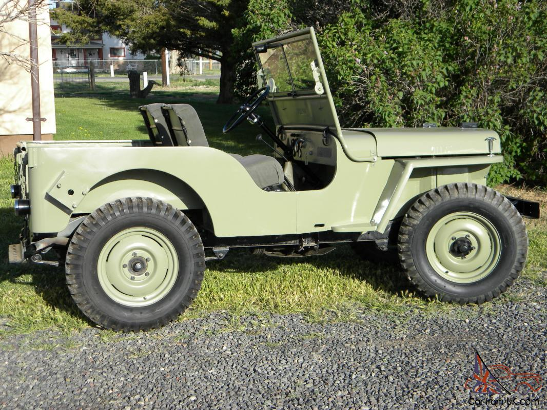 1948 Willys Jeep Cj 2a Full Frame Off Restored