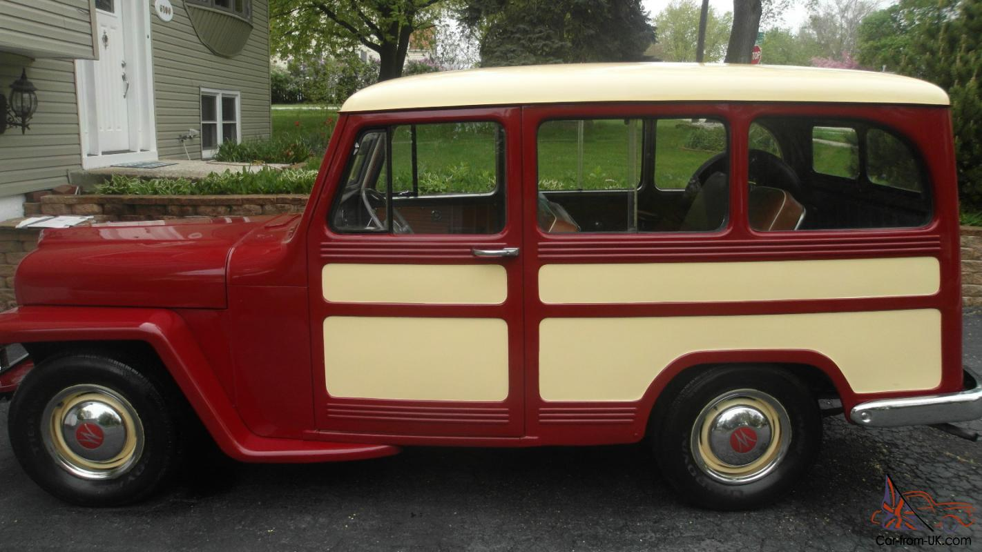 Willys jeep station wagon for sale