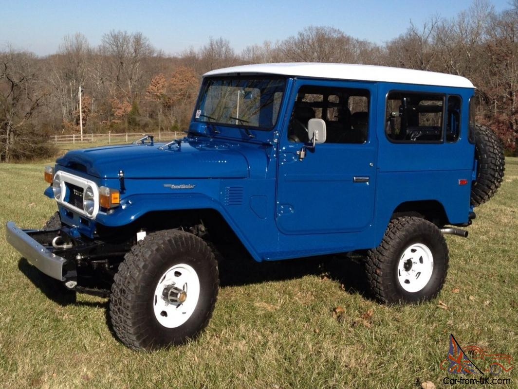 Fully Restored Classic Fj40 Land Cruiser