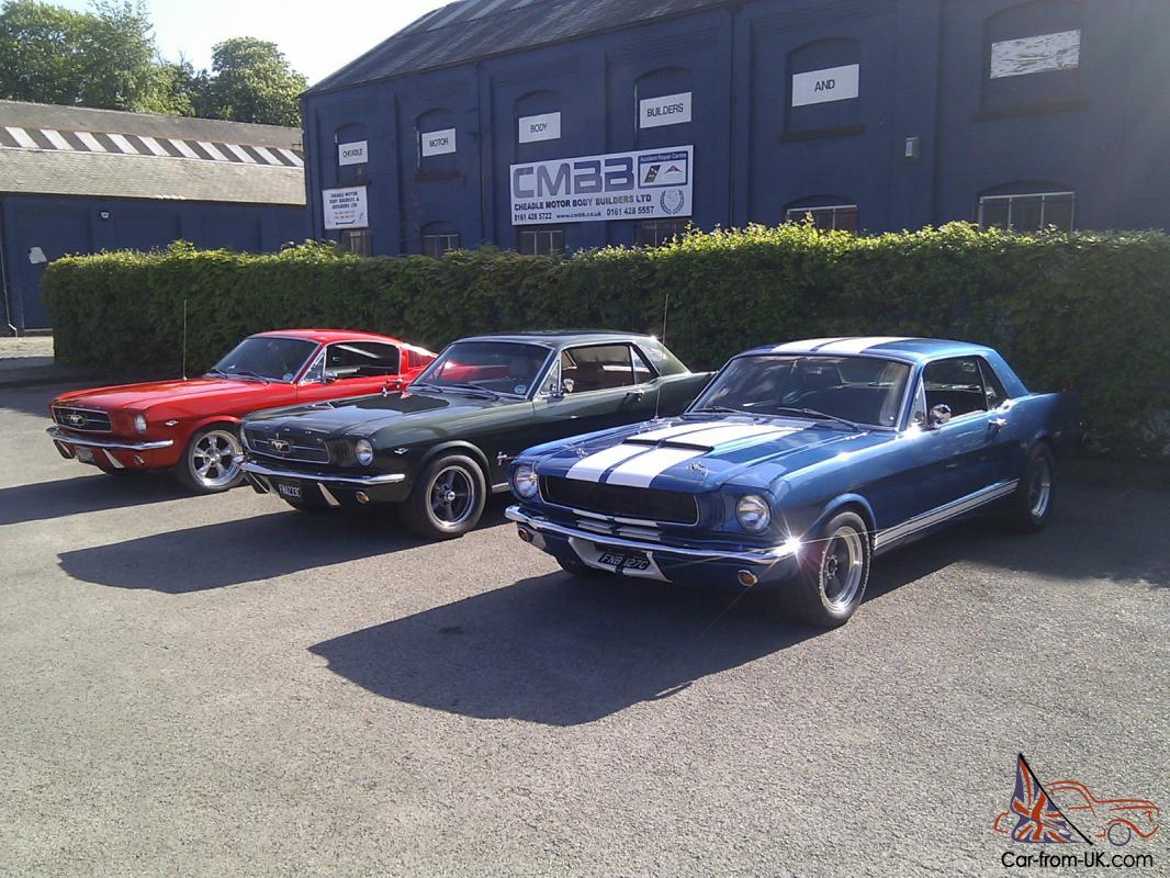 1965 ford mustang fastback 289 v8 manual