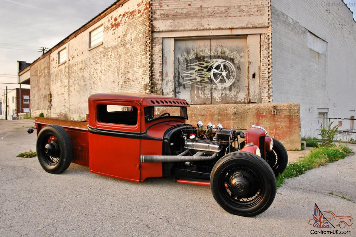 CHOPPED HOTROD RAT STREET HOT ROD TRUCK TRADITIONAL