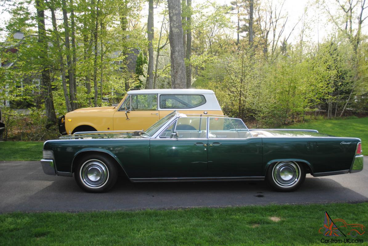 1965 Lincoln Continental Convertible - Mechanically Restored