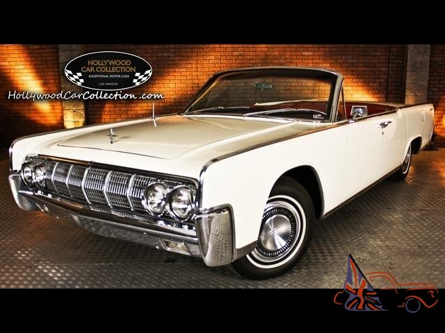 1964 lincoln continental automatic 2 door convertible. Black Bedroom Furniture Sets. Home Design Ideas