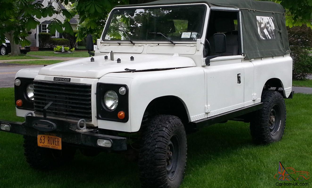 1963 Land Rover 2a Defender Soft Top Lhd V8 Auto