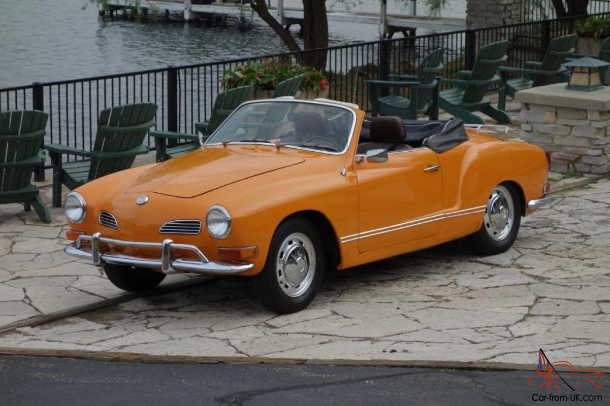 karmann ghia convertible ready to show or drive. Black Bedroom Furniture Sets. Home Design Ideas
