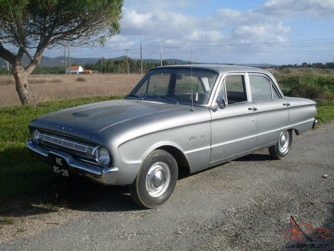 1960 ford falcon 2 4 barn find classic car left hand drive