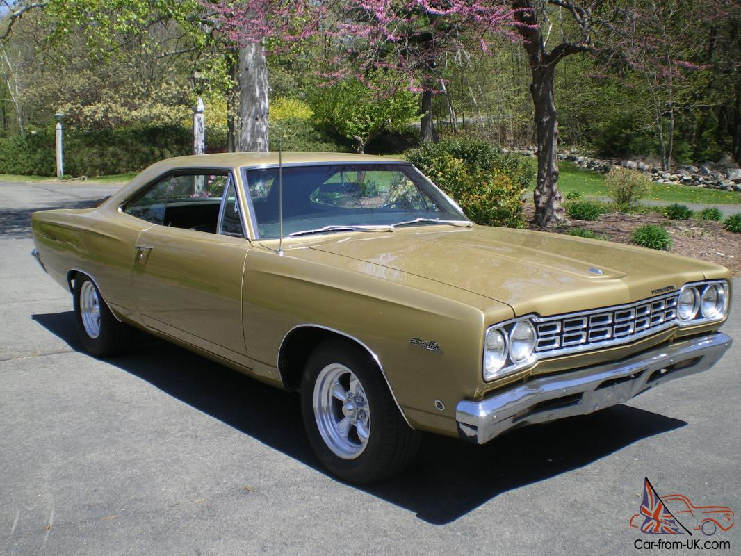 1968 plymouth satellite for sale submited images