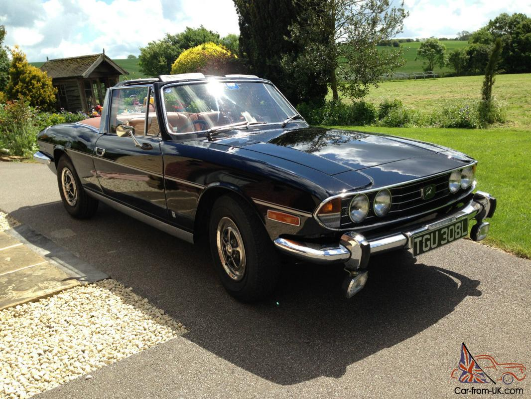 Stag 1972 original Mk1 Triumph V8 engine, black, just 5 owners ...