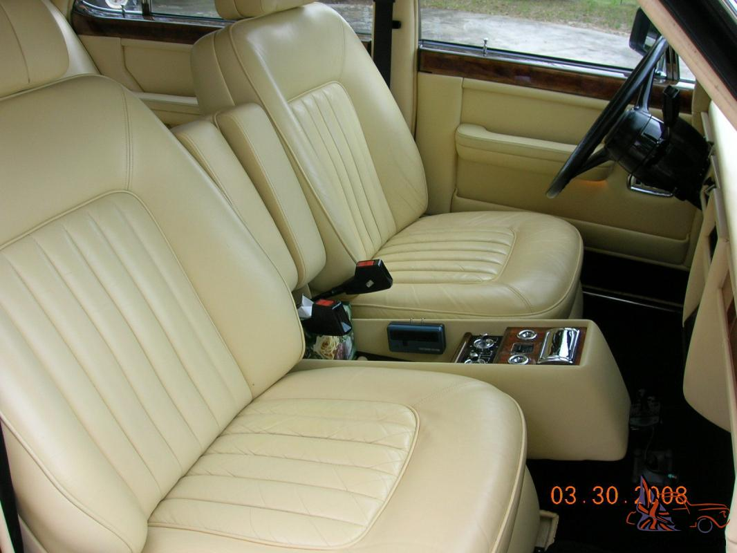 1985 rolls royce silver spur 37 117 miles great condition nice interior paint. Black Bedroom Furniture Sets. Home Design Ideas
